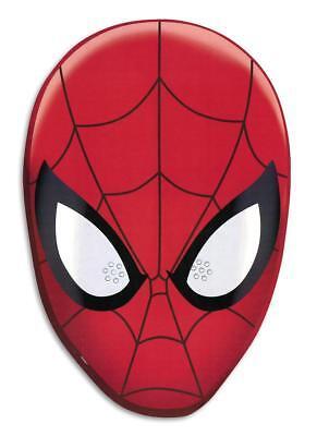 Spider-Man Party Maske - Pappmaske Papier Pappe - Fasching Halloween Kostüm NEU