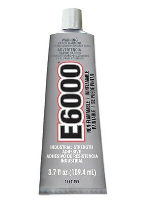 Eclectic Products 230012 3.7 oz. Amazing E-6000 Craft Adhesive Uncarded, Clear