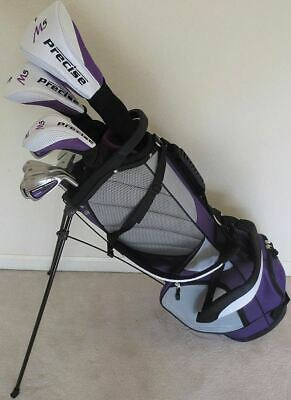 Ladies Complete Golf Set Driver Wood Hybrid Irons Putter Bag Graphite Right