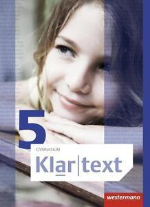 Klartext 5. Schülerband. Allgemeine Ausgabe. Gymnasien (2014, Gebundene Ausgabe)