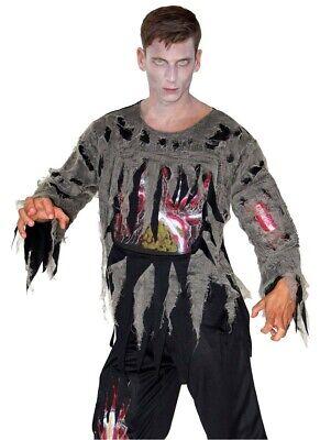 Kostüm blutiger Zombie Zombiekostüm für Männer Halloween Gr. M - Zombie Kostüm Männer