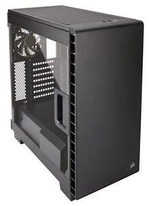 Corsair Carbide Clear 400C Black Mid Tower Case ATX Full Side Panel Window USB3