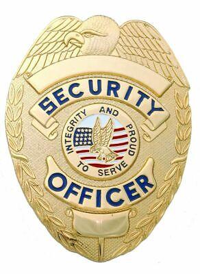 Security Enforcement Officer Gold Shield Badge