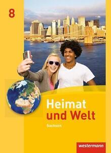 Heimat und Welt 8 Schulbuch Geographie unbenutzt WIE NEU 9783141448184 Erdkunde