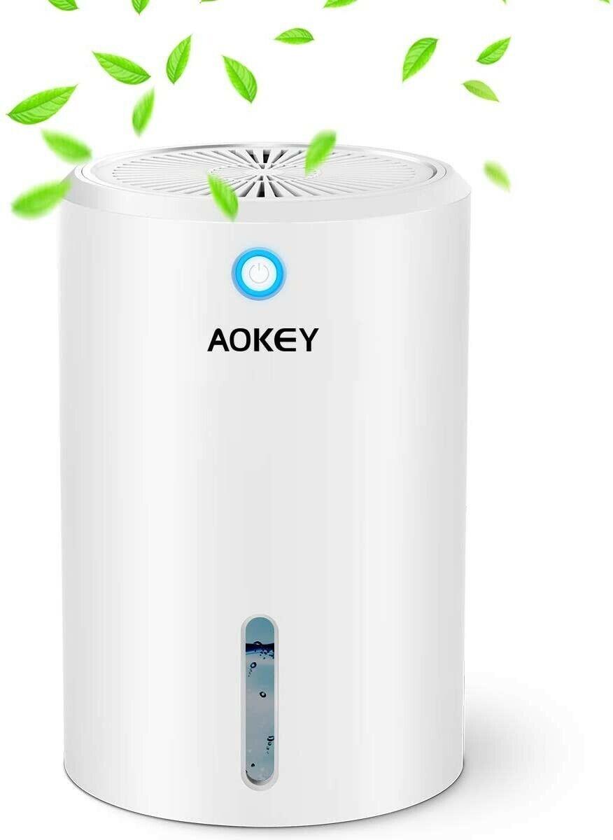 AOKEY Luftentfeuchter 900 ml Entfeuchter Elektrisch Raumentfeuchter