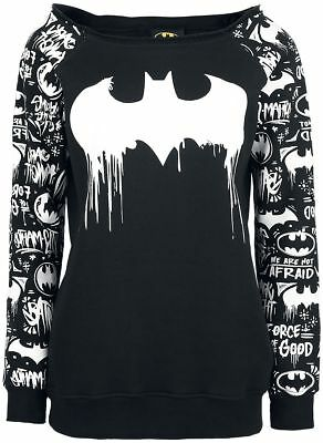 Harley Quinn, Suicide Squad, Batman, Goth, Sweat, Graffiti Sweater, Joker,Gr.XXL ()