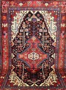GORGEOUS ROOM SIZE TRIBAL HAND WOVEN PERSIAN NAHAVAND RUG CARPET Lane Cove Lane Cove Area Preview