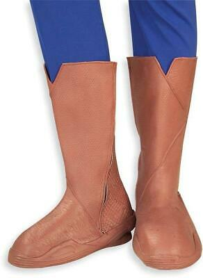 Superman Deluxe Boot Tops Superman Adult Costume - Superman Deluxe Adult Kostüme