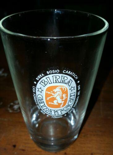 bicchiere birra bosio e caratsch anni 50