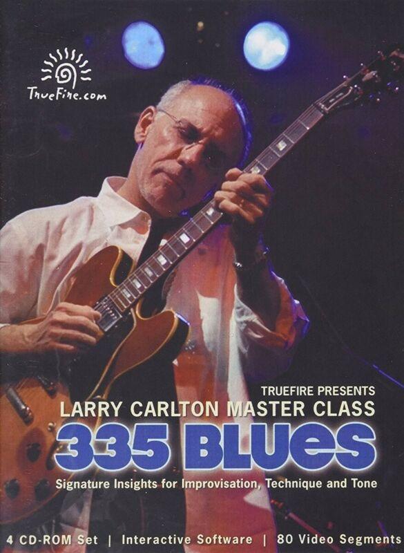 TrueFire Video Course  335 Blues (4 Discs) by Larry Carlton