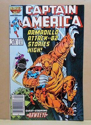 CAPTAIN AMERICA Vol.1 #316 Marvel 8.0 VF Uncertified HAWKEYE!