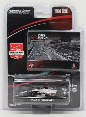 Kurt Busch Car - 2014 KURT BUSCH #26 Dallara-Honda 1:64 Indy Car Diecast In Sotck Free Shipping