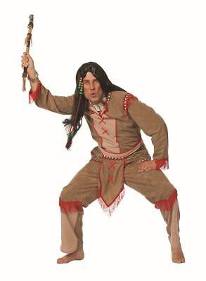 WIL - Herren Kostüm Indianer Adlerauge Karneval Fasching