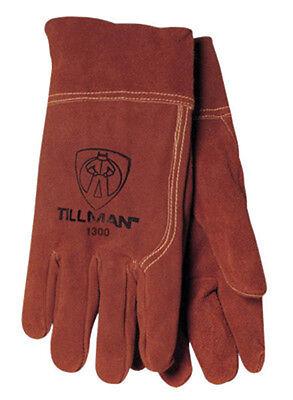 Tillman 1300 L Mig Welding Gloves Large Cowhide Split Leather 2 Cuff 1300l