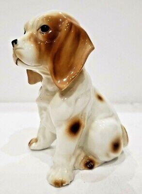 Vintage Porcelain Ceramic Cocker Spaniel Dog Figurine / Japan Made 195/7