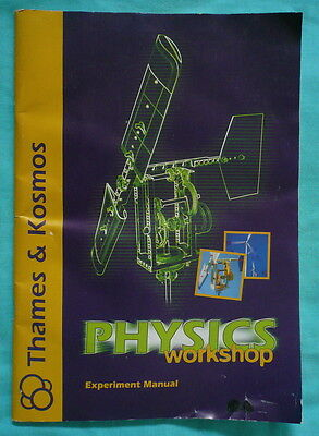Thames and Kosmos Physics Workshop Experiment Manual - BOOK ONLY