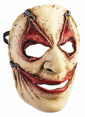 Piercing Frontal Face Mask Hooked Gruseome Stretched Wide Eyes Mouth (Wide Eyes Face)