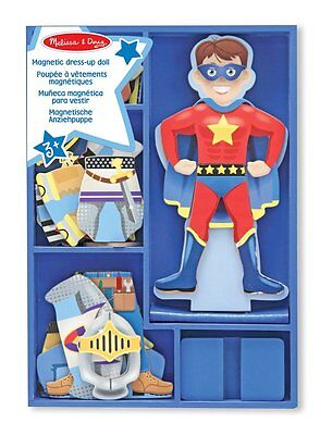 Melissa and Doug Billy Magnetic Wooden Dress Up Boy Doll Educational Toy New
