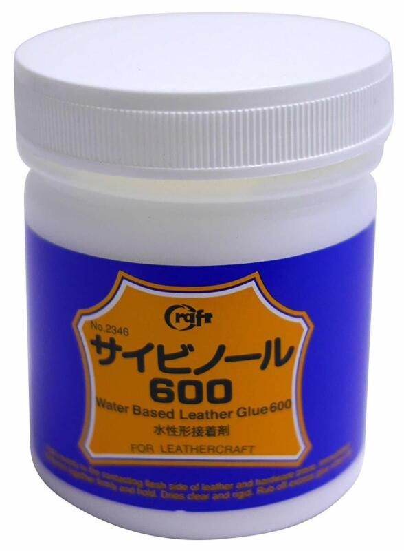 Craft Sha 600 Leathercraft Cement Strong Glue Max Adhesive Leather Bond 150ml