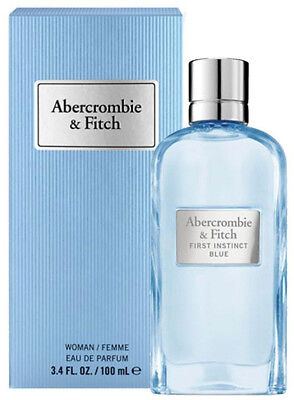 Abercrombie & Fitch First Instinct Blue perfume women EDP 3.3 / 3.4 New in Box
