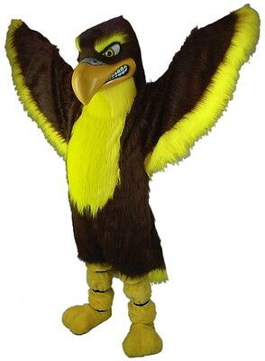 Fierce Falcon Hawk Professional Quality Mascot Costume Adult Size](Hawk Costume)