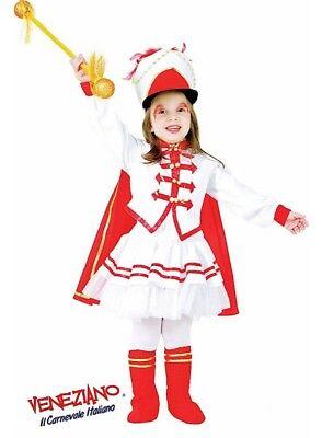 Deluxe Drum Majorette Marching Band Uniform Costume Girls Toddler Child SZ 3](Drum Majorette Costume)
