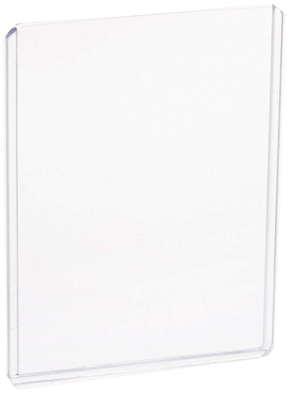 (100) 6X9 PHOTO PICTURE IMAGE or POSTCARD CLEAR PLASTIC HARD RIGID TOPLOADERS