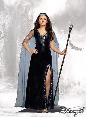 Dreamgirl die Zauberin Hexe Sexy Kleid Erwachsene Damen Halloween Kostüm 11149