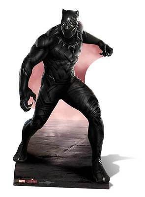 Pantera Negra Marvel TAMAÑO NATURAL Figura de cartón / Avengers
