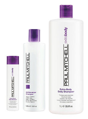 Paul Mitchell Extra Body Daily Shampoo (FREE USPS priority mail with 33.8oz)
