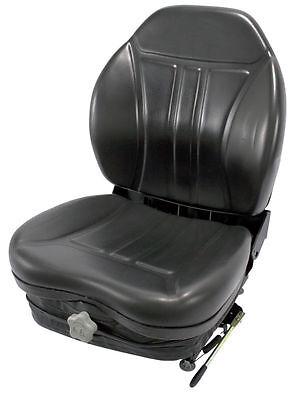 Concentric International Universal Seat 36010bk For Mowers Skidsteers Utilityetc