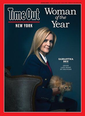 Samantha Bee Time Out New York Magazine Woman Of The Year March 15 28  2017