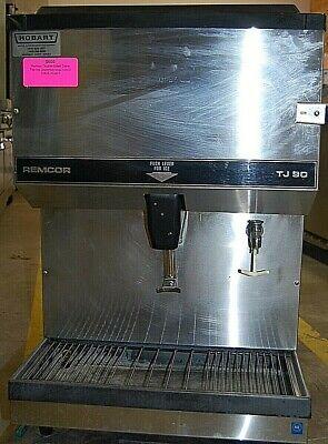 Remcor 90lb Bin Countertop Ice Water Dispenser Model Tj90s-d - Double Sided