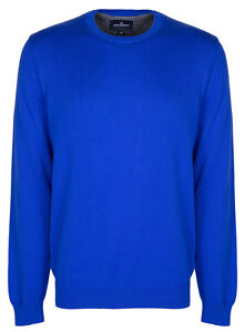 Marks & Spencer Mens Blue Harbour M&S New Crew Neck Jumper Sweater Pullover Top