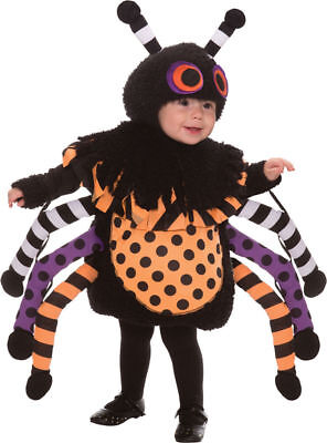 Creepy Baby Costumes (Morris Costumes Infant Polyester Creepy Spider Crawl Toddler Suit 2-4T.)
