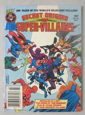BEST OF DC COMICS BLUE RIBBON DIGEST #10 SECRET ORIGINS OF SUPER-VILLAINS (Best Dc Comics Villains)