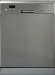 NEW De'Longhi Stainless Steel Freestanding Dishwasher 2 year DEDW645S