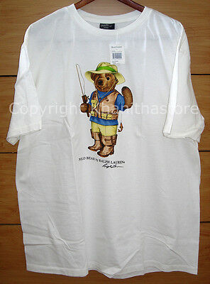 Polo Ralph Lauren Bear T-Shirt*NEW WITH TAG/Size LARGE**