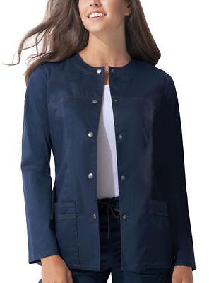 Crewneck Warm Up Jacket (Dickies Women's Patch Pocket 28