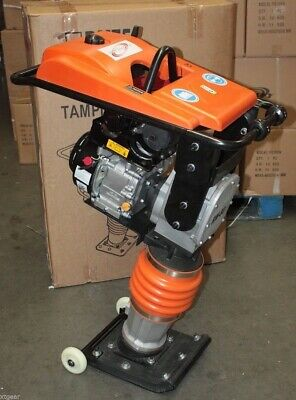 196cc 6.5hp Gas Power Dirt Tamper Rammer Jumping Jack Tamping Ram Compactor