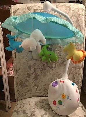 Fisher Price Precious Planet 2-in-1 Projection Mobile - Remote Not
