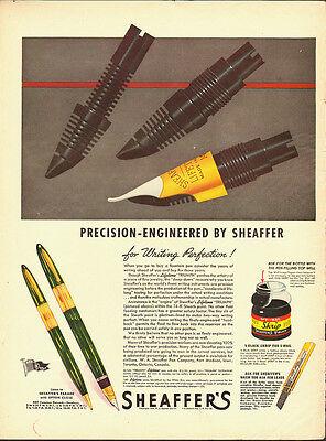 """1944 Vintage ad for SHEAFFER""""S Pen~Large pens (120312)"""