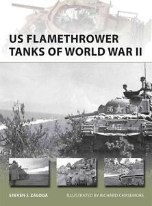 Osprey New Vanguard 203 : US Flamethrower Tanks of World War II NEU !