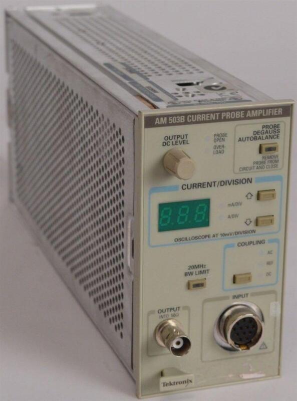 Oscilloscope Current Probe : Tektronix current probe ebay