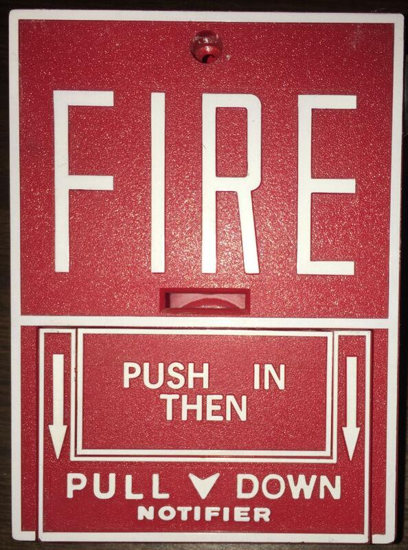 Notifier BGX-101L Addressable Fire Alarm Pull Station