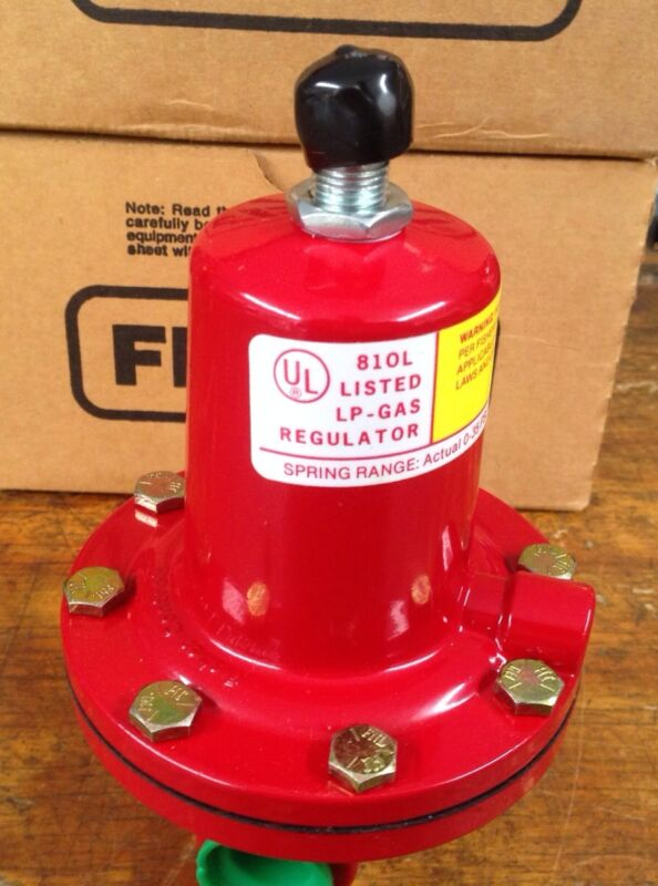 Fisher H.P Adjustable Regulator 64/33 0-15 psi.