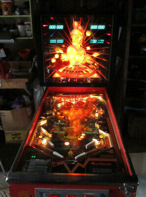 Gottlieb Mars God of War pinball machine