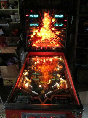 Gottlieb Mars God of War pinball machine