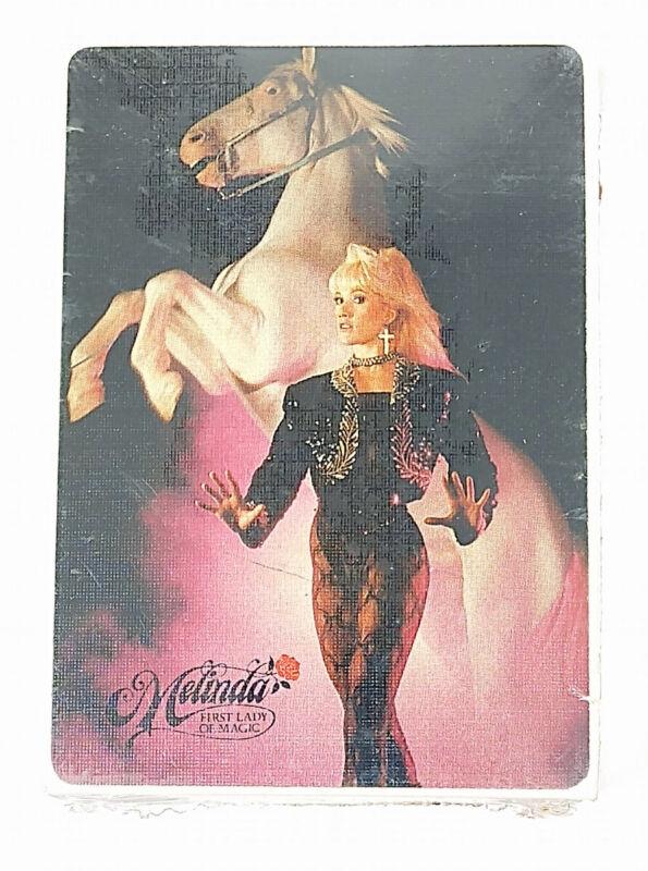 Melinda First Lady of Magic Playing Cards Lance Burton Wife Las Vegas NEW SEALED