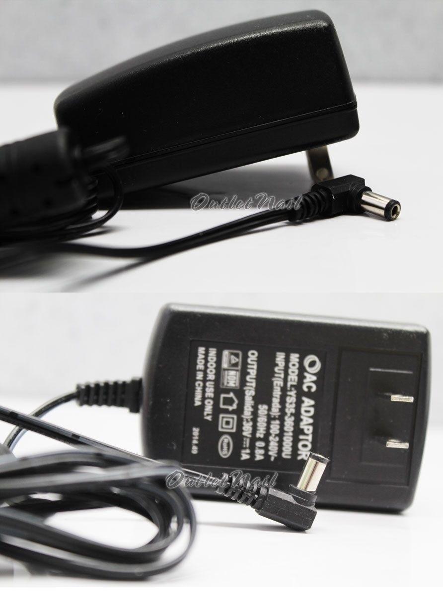 ORIGINAL AC Adapter Model YS35-3601000U 36V 1A for CND LED Light Lamp 90200